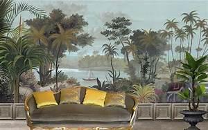 Fresque Murale Papier Peint : ananb interior design papier peint panoramique papier peint et parement mural ~ Melissatoandfro.com Idées de Décoration