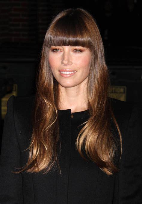 Celebrity Hairstyles: Jessica Biel Hair Bangs 05, jessica
