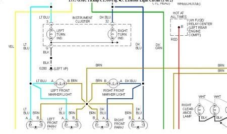 2000 Gmc Wiring Diagram by Wiring Diagram For 2000 Gmc Sonoma