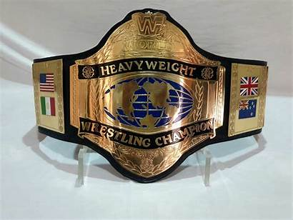 Heavyweight Championship Belt Wwf Wrestling Hulk Hogan