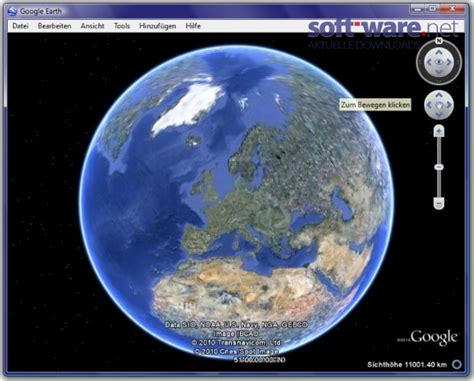Google Earth  Download (windows  Deutsch) Bei Softwarenet