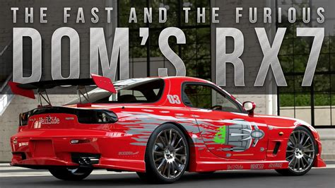 Dom Fast And Furious Car by Forza 5 Fast Furious Car Build Dom S Rx 7