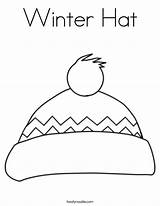 Coloring Winter Hat Pdf Scarf Twisty Noodle Printable Coloriage Beaux Maternelle Hiver Dessins Duathlongijon Leave sketch template