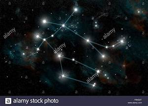 An artist's depiction of the constellation Gemini the ...