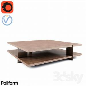 3d models table bristol coffee table With bristol coffee table
