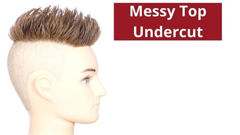 Messy Top Undercut Haircut Thesalonguy Hairdressing