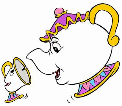Chip Potts Mrs Clip Teacup Disney Beast
