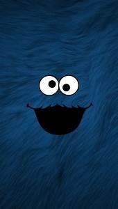 Cookie Monster iPhone 5 Wallpaper (640x1136)