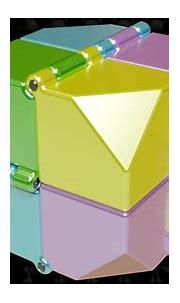 Foldable Cube Fidget Puzzle 3D Model - YouTube