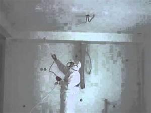 Pistolet Peinture Plafond : peinture int rieure au pistolet des murs et plafonds d 39 une ~ Premium-room.com Idées de Décoration