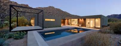 desert home plans desert house with awesome viewing veranda next to pool modern house designs