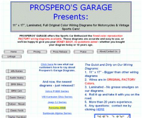 Colorwiringdiagrams Prospero Garage Presents