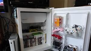 l39astuce surprenante pour transformer un frigo en meuble tele With transformer un vieux meuble