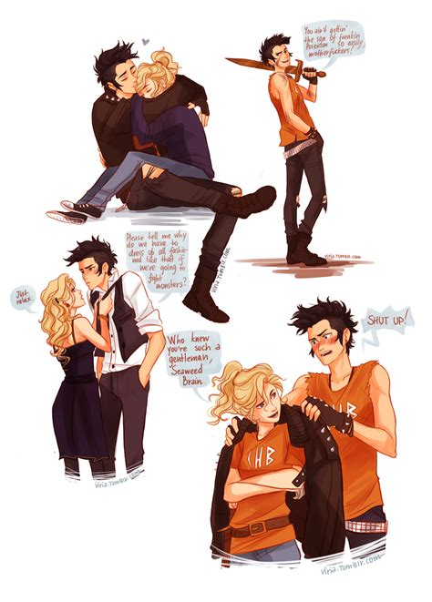 percy jackson fan art if percy was a punk by viria13 on deviantart