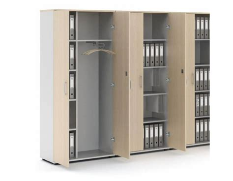 photo armoire de rangement bureau en bois