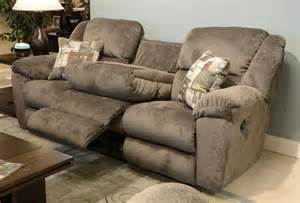 catnapper transformer ultimate sofa with 3 recliners and 1