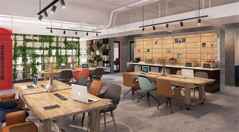 A Design Lab To Foster Interior Ideas by Nest Co Working Space At Tryp Wyndham Dubai To Foster