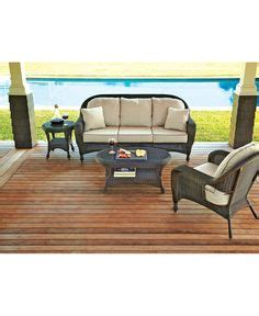brown marquis patio lounge chair in toffee with