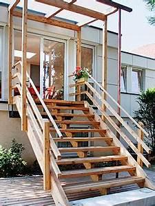zimmerei fleck leistungsangebot treppen fur draussen With garten planen mit balkon treppe außen