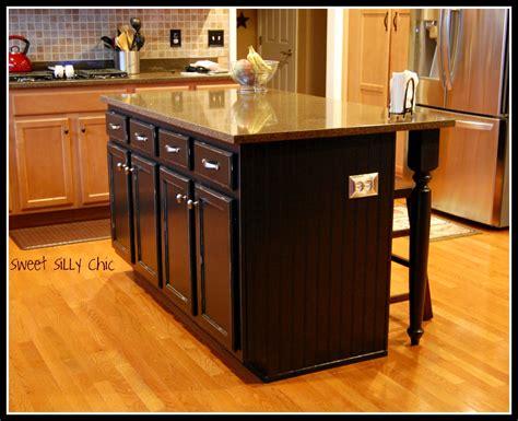 diy kitchen islands diy kitchen island update silly chic