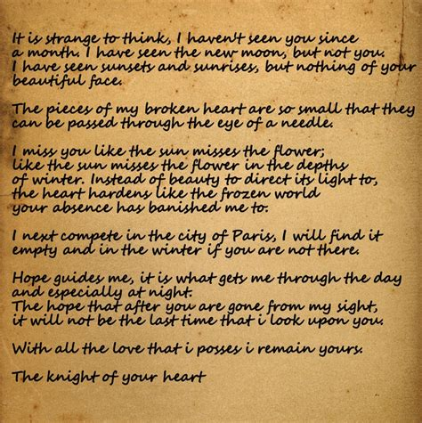 letter  jocelyn  knights tale movies pinterest