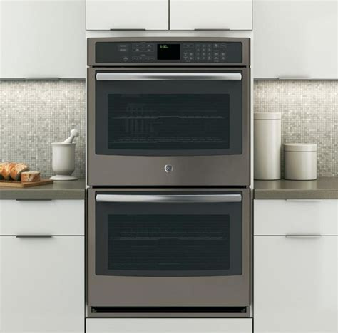slate  fingerprints wall oven ptehes ge appliances   pinterest ovens
