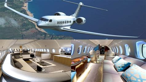 Top 5 Most Luxury Private Jets In The World