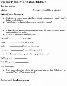 32 sample questionnaire templates in microsoft word With investor questionnaire template