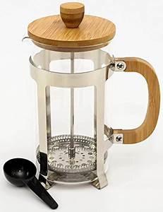 French Press Kaffeepulver : frenchpress tee und kaffeebereiter mit french press system aus edelstahl bambus und ~ Orissabook.com Haus und Dekorationen