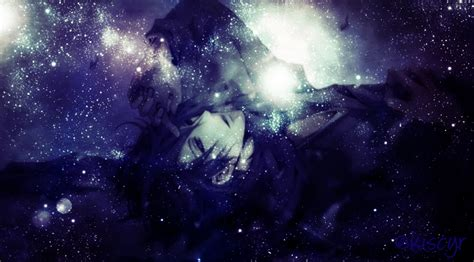 Outer Space Background Images Anime Boy Galaxy Sad Edit