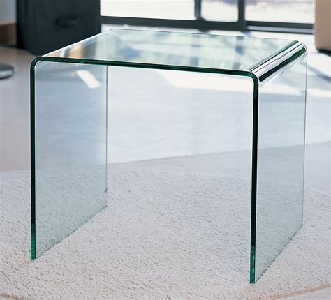 clear glass bedside table angola side table 117 50 with free next day delivery