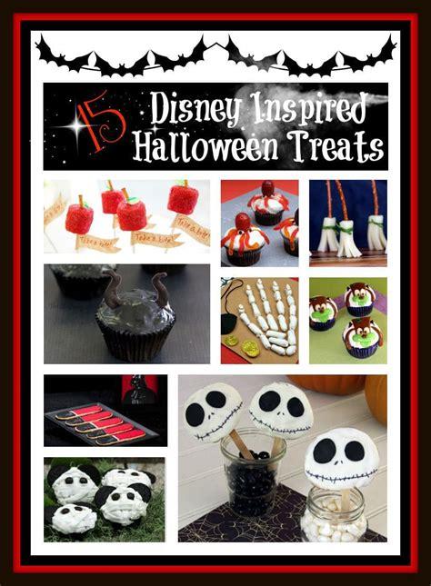 easy disney inspired halloween treats  crafts gym