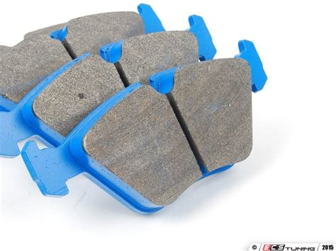 Front Blue Racing Brake Pad Set