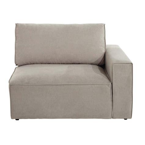 accoudoir de canapé canapé tissu beige