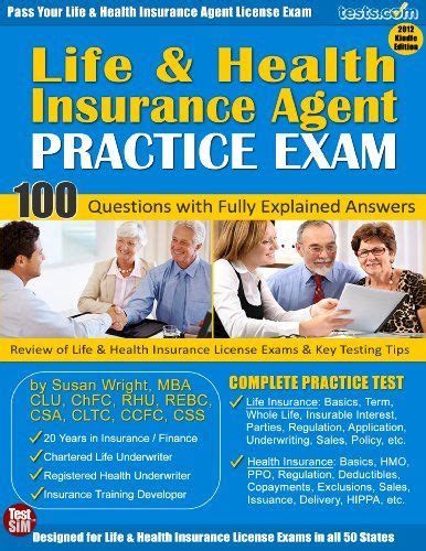 You won't pay anything additional if you enroll with an agent or broker. Life and Health Insurance Agent Licensing Practice Exam   Life and health insurance, Health ...