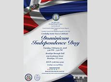 Dominican Independence Day Celebration Office of the