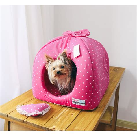 pink canopy dog bed canopy dog bed  small dogs modern