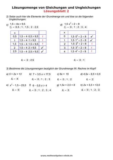 mathe ueben gleichungen