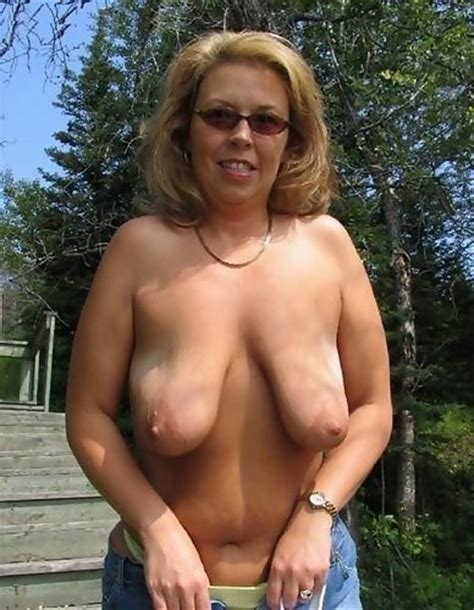 topless or exposed in jeans milf edition mature porn photo