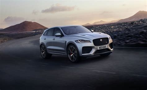 2019 Jaguar Fpace Svr Packs 550 Hp  News  Car And Driver