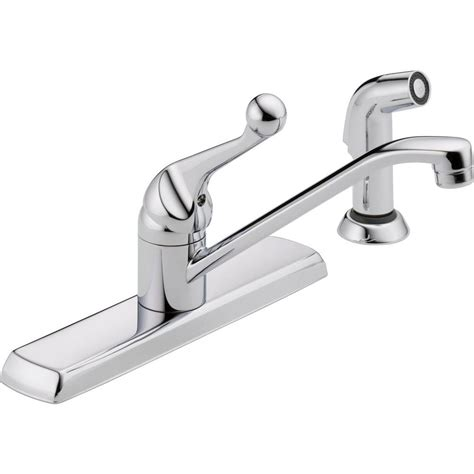 delta classic single handle standard kitchen faucet