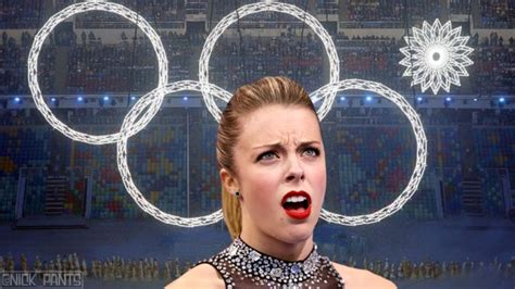 Ashley Wagner Meme - craziest moments from the sochi olympics so far