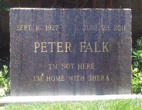 perry como burial site peter falk 1927 2011 find a grave memorial