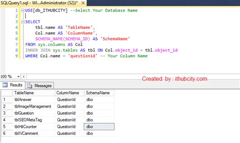 sql server show tables sql server write a query to find all tables in a