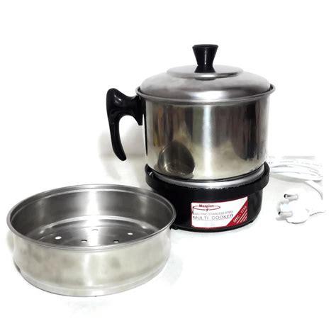 Jual Maspion Panci Kukus jual maspion multi cooker mec 1750 alat masak serbaguna