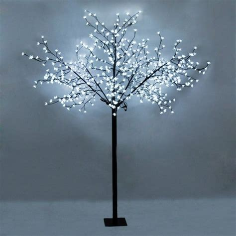 white light tree large decorative cool white tree light with 600