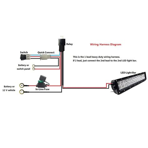 led road light bar wiring diagram wiring library