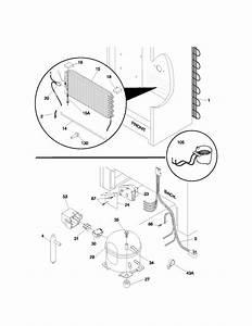 Frigidaire Ffu11fk0dw1 Upright Freezer Parts