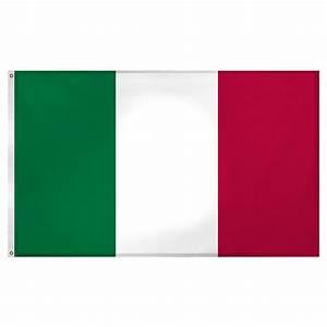 Italy flag 3ft x 5ft Superknit polyester