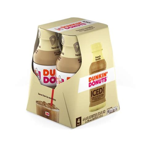 Is it possible to order an iced coffee then there are the flavors. Dunkin Donuts ICED French Vanilla Coffee 4 - 9.4 fl. oz ...